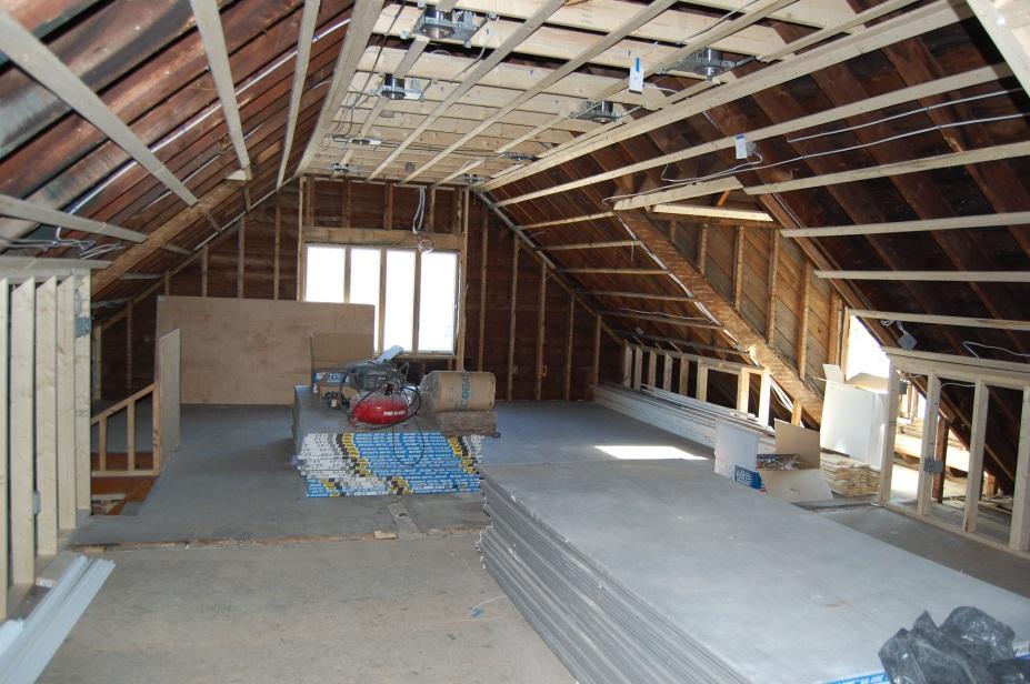 Belmont attic conversion bgblog for Attic remodel